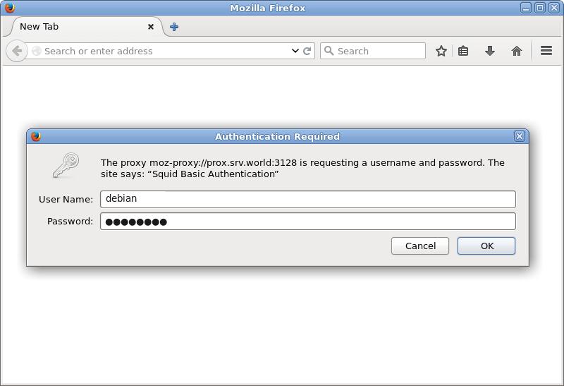 Как настроить basic авторизацию по паролю на прокси-сервере Squid