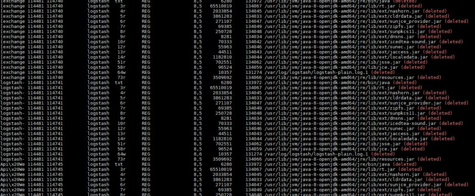 Как освободить место на диске Linux от удаленных файлов (deleted)