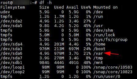Освободить место на диске от удаленных файлов (deleted) на Linux