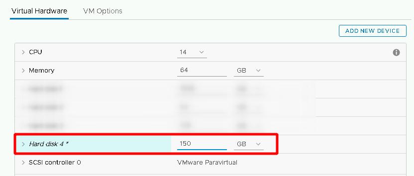 Как расширить диск Linux на лету в VMware vSphere