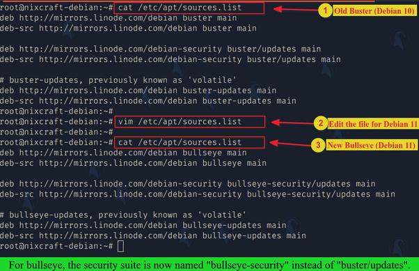 Как обновить Debian 10 до Debian 11 Bullseye